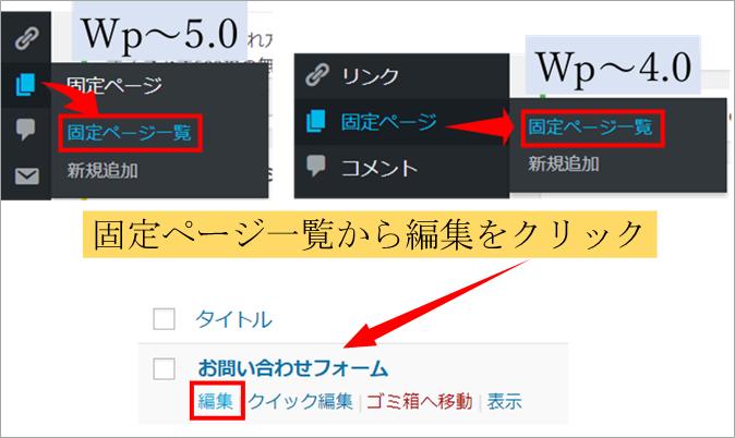 ワードプレスの管理画面画像